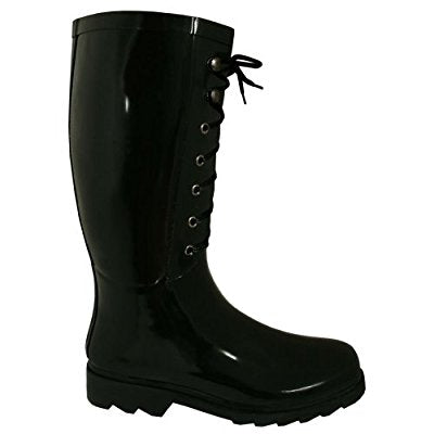 Lace up wellies