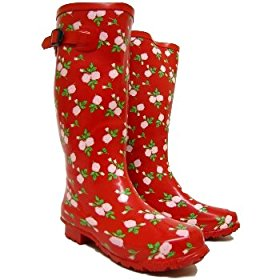 Red Rose Festival Wellies