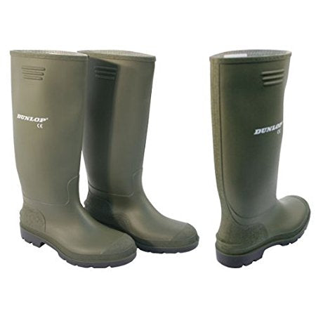 Dunlop Green Wellies