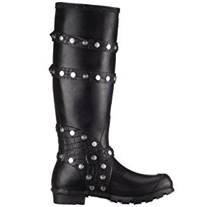 Rivet and Straps Wellies