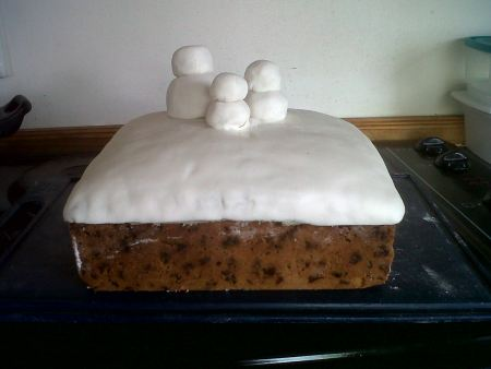 Step 2 - Christmas Cake Baked