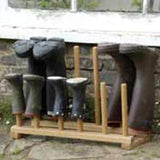 Oak Boot Stands