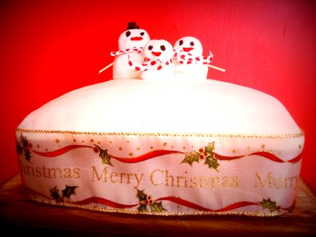 Step 3 - Christmas Cake Recipe Finished