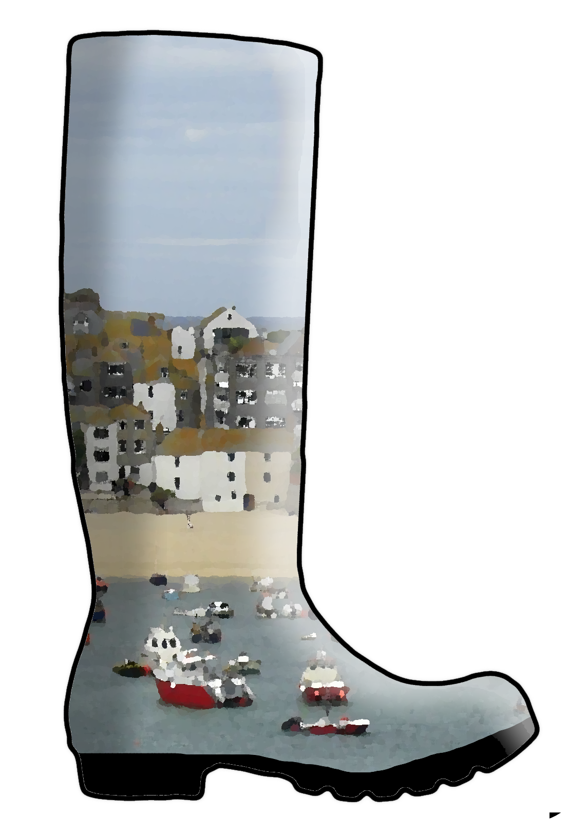 St Ives Wellington Boots
