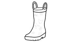 Hatley Welly Outline