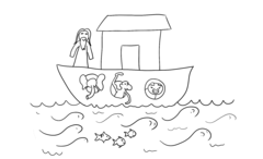 Noah's Ark Outline