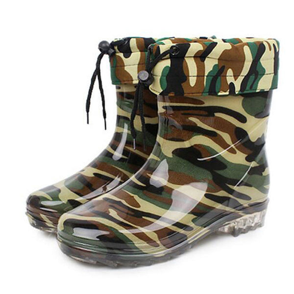 Camouflage Wellies