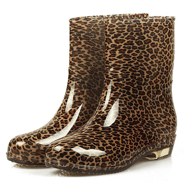 Wellies - Sizes 36-40 (pink, brown, leopard)