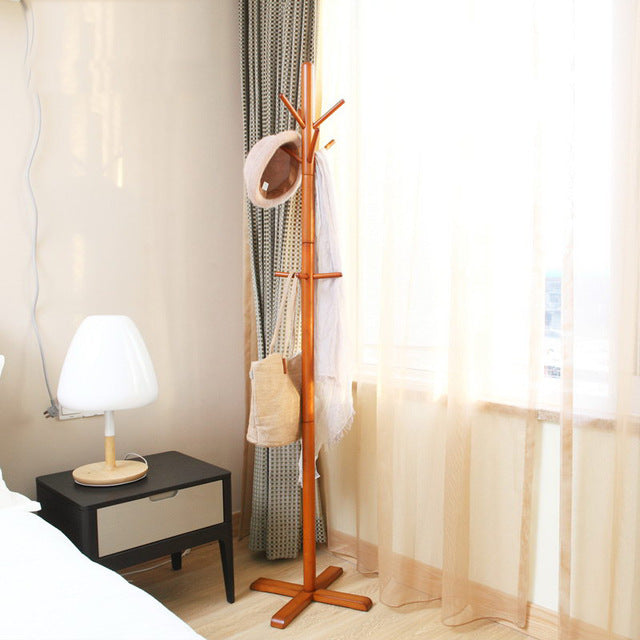Oak Coat Stand for Hallway or Bedroom
