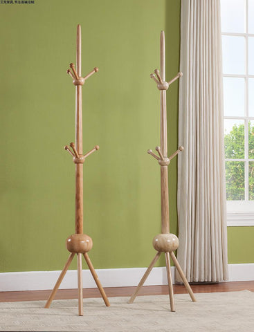 Ash Wood Hatrack and Coat Stand