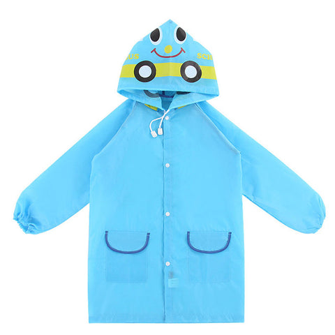 kids Raincoat - blue, green, or pink