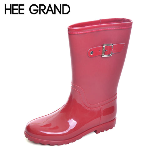 Candy Color Rain Boots