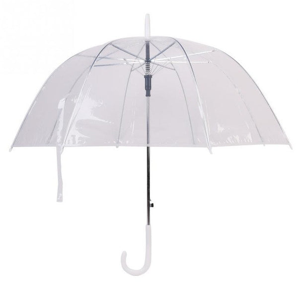 Long Handle Transparent Umbrella