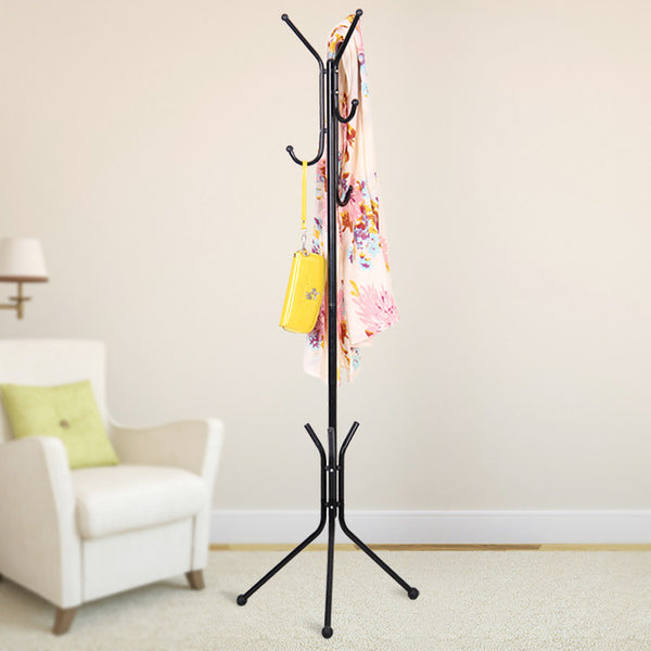 Simple Coat Rack (Pink/White or Black)
