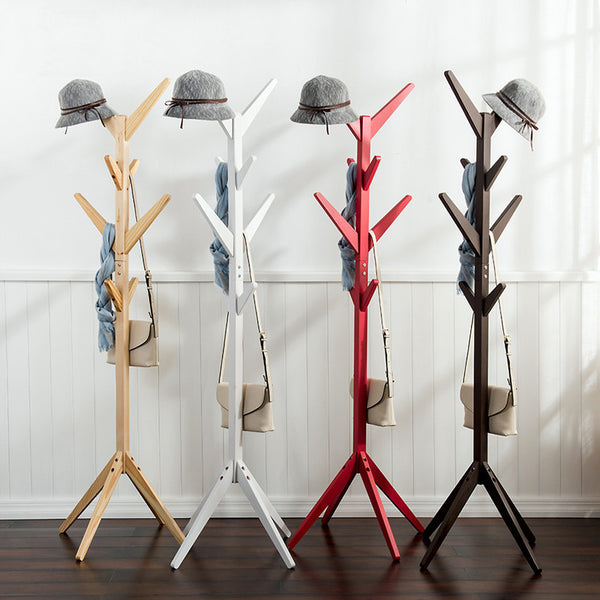 8 hook stylish clothes tree - available in different colours