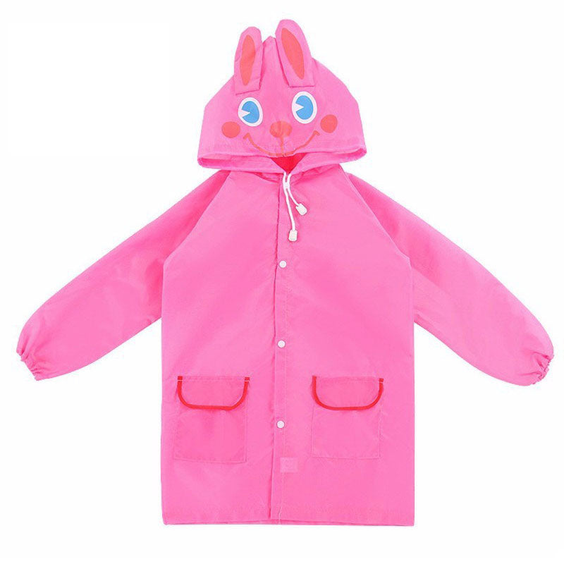Kids Waterproof Animal Raincoat (different colours available)