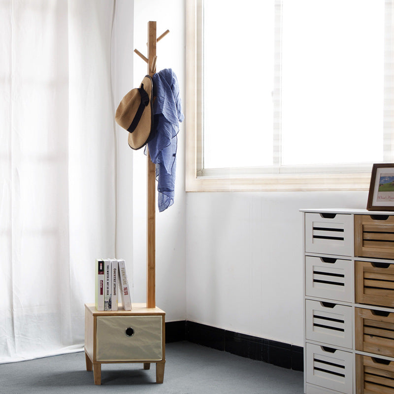 Coat Stand with storage unit