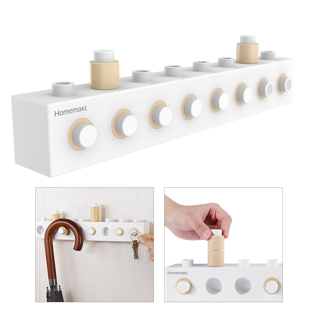 Building Block Wall Hooks