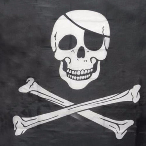 Creative Halloween Decor Skull and Cross Bone Sword Jolly Roger Pirate Flag 90x150cm Mayitr New