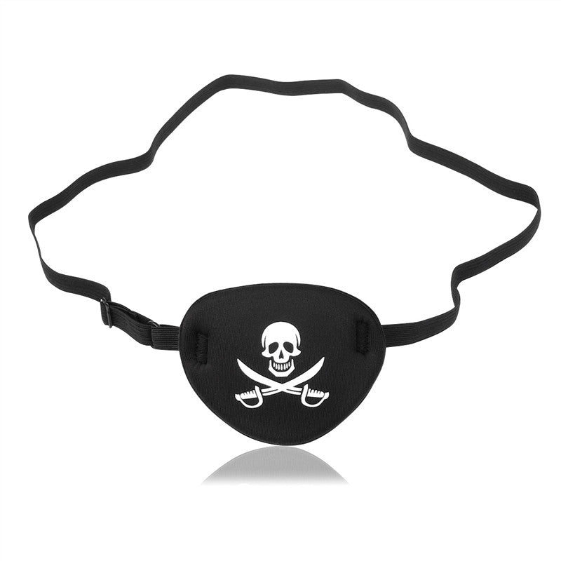 NUOLUX Adult Pirate Eye Patch Skull Crossbone Eye Patch Eye Mask for Halloween