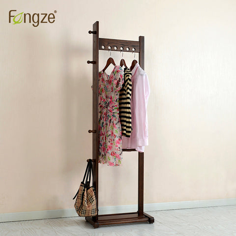 Hallway Clothes Rail made in Birch wood