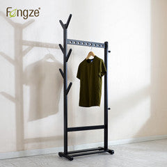 Modern Simplicity Clothes Rack made in Solid Wood