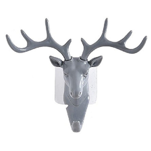 Creative Deer Head Animal Coat Hooks Decorative Wall Crafts