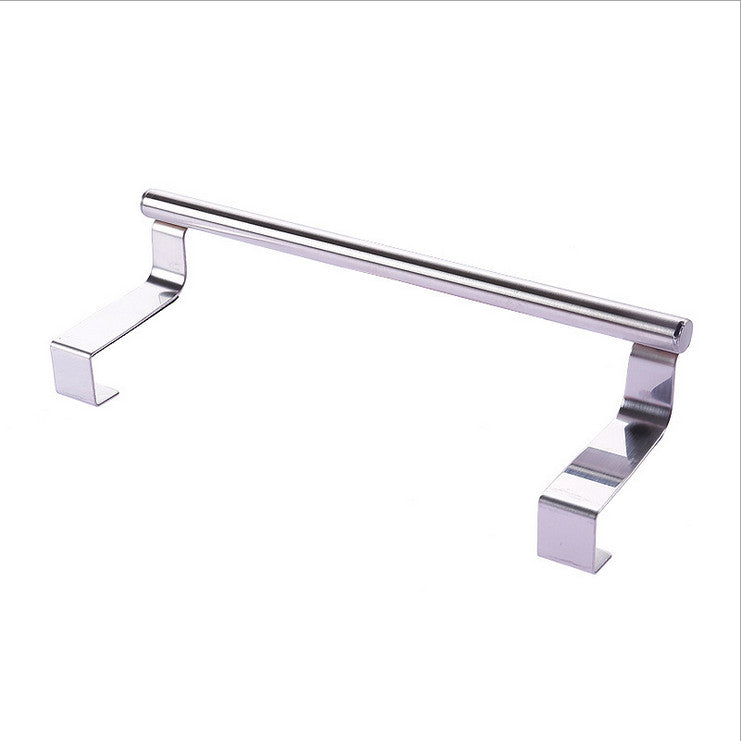 Towel rail over edge hook/rail