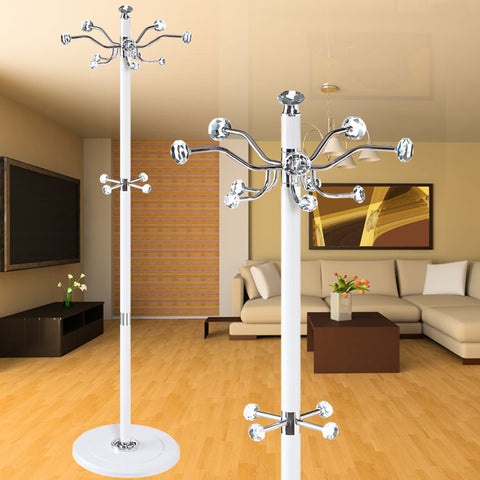 Elegant crystal peg coat stand