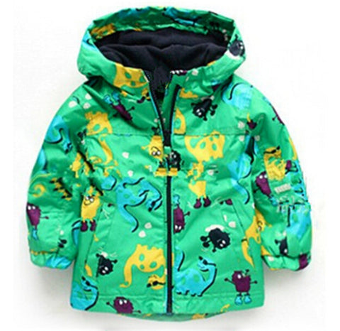 Children's Dinosaur Rain Coat