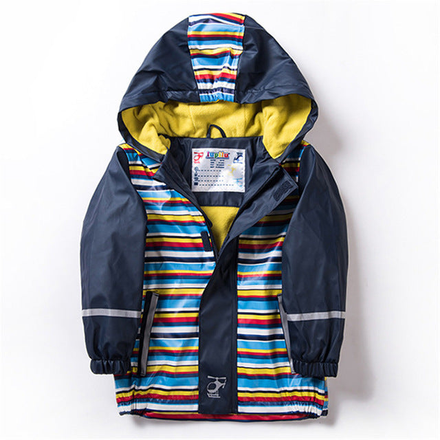 Striped Raincoat for Kids