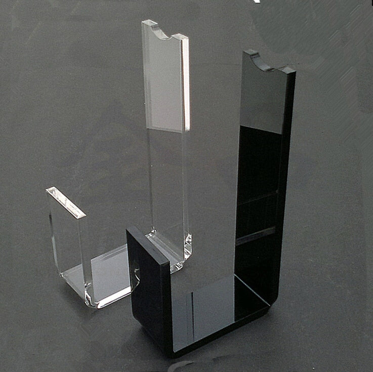 Black Acrylic Shoe Display Rack