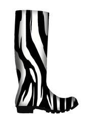 Zebra Wellies (download image only)