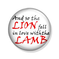 Lion in love with the lamb