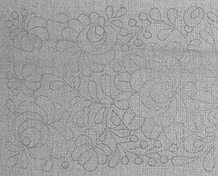 Bands of roses - Matyo embroidery prestamped pillowcase