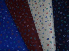 Floral fabric for Hungarian folk dance costumes