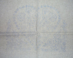 Heart of flowers - Kalocsa embroidery prestamped pillowcase