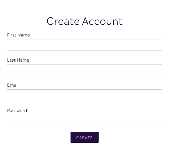Create a Customer Account with Purple Urchin