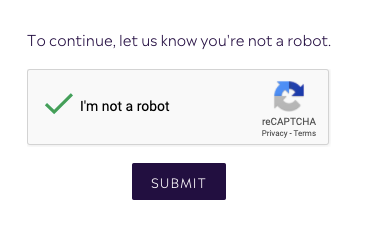 Confirm Captcha to reset your password - Purple Urchin's Loyalty Points program