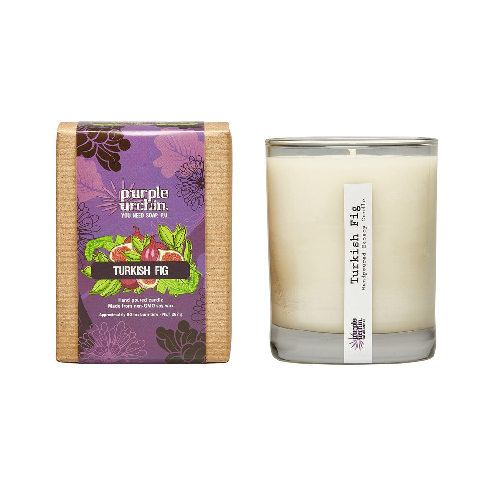 Turkish Fig soy candle - Purple Urchin