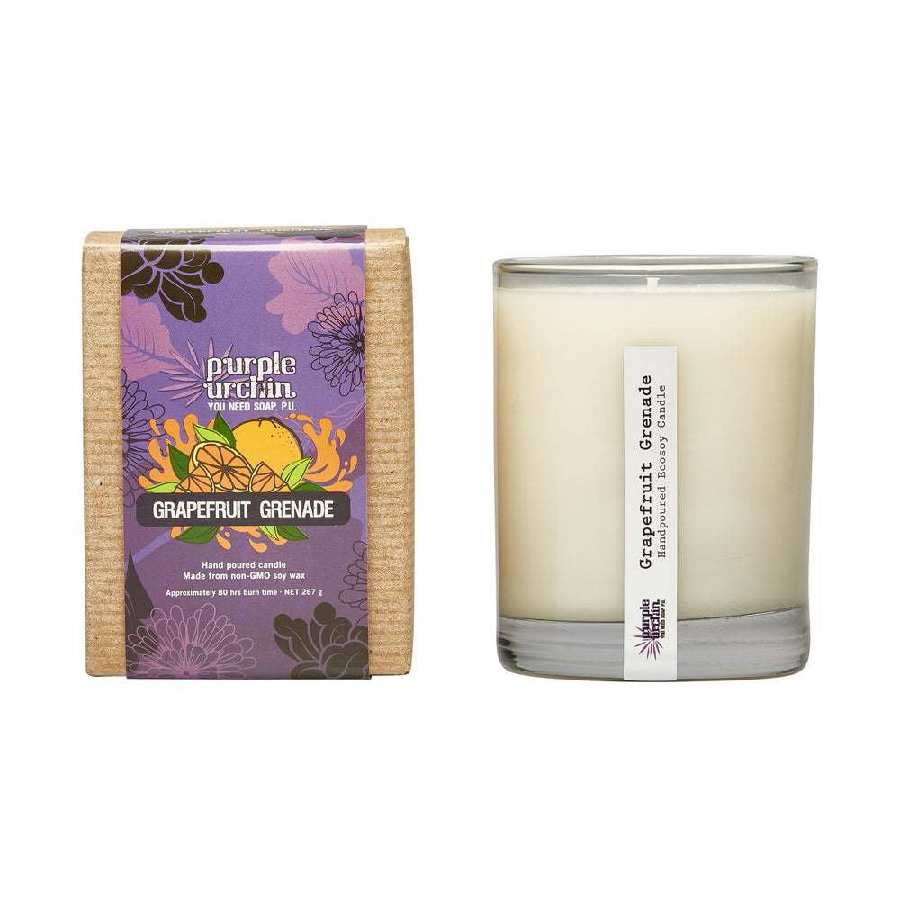 Grapefruit Grenade soy candle