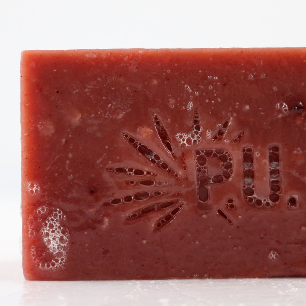 Rosebud Bar Soap - Purple Urchin