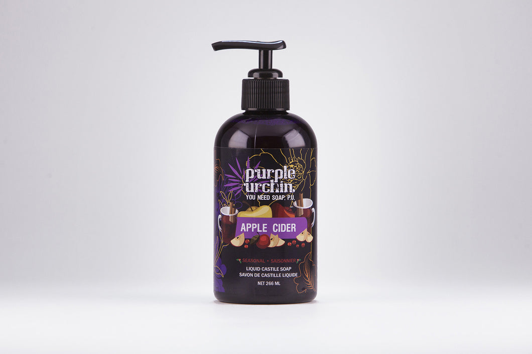 Apple Cider Liquid Soap - Purple Urchin
