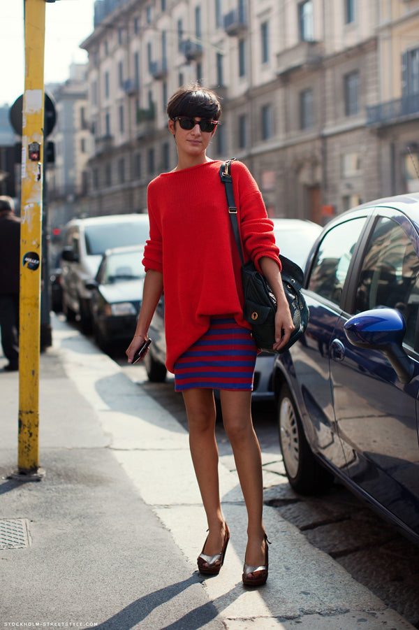 red-blue outfit- street style stockholm street style