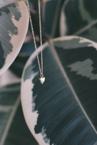 TASMANIAN NECKLACE - SOLID STERLING SILVER