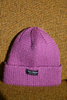 PITBULL MANSION CHUNKY KNIT BEANIE - PURPLE