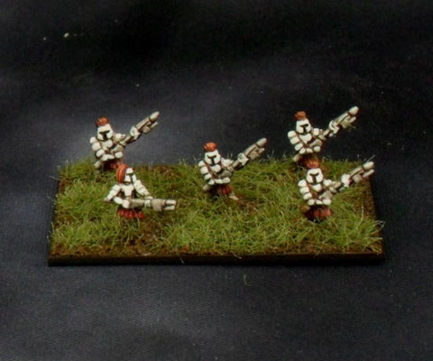 Some of the standard infantry models.