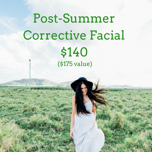 Post-Summer Corrective Facial with LED