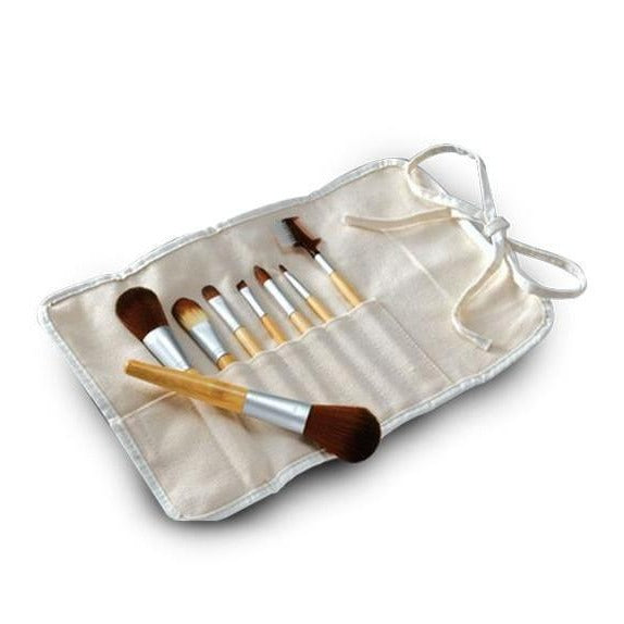8-Piece Cosmetic Brush Set (Vegan)