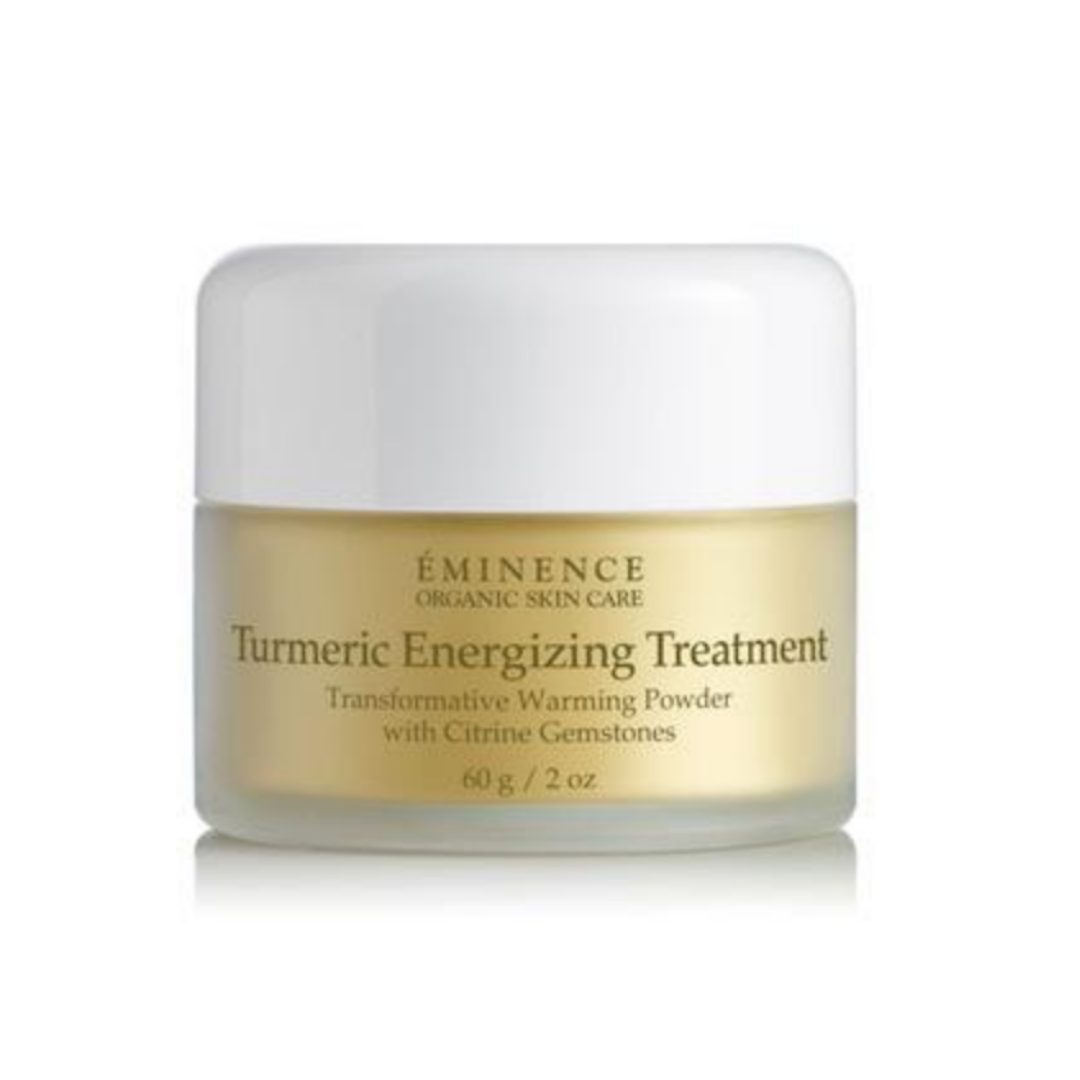 Turmeric Energizing Treatment with Citrine Gemstones